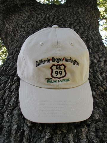 US Highway 99 Ball Cap
