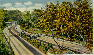 Arroyo Seco Parkway, LA's first freeway.