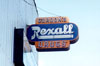 Gordon's Rexall Drug sign